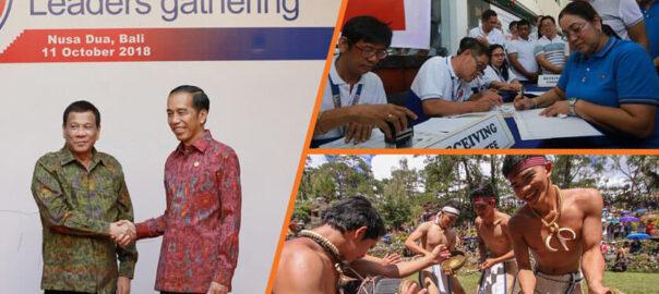 Du30 returns from Bali